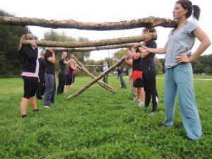 allenamento di gruppo