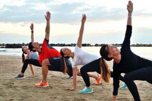 allenamento in gruppo