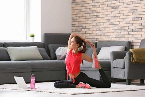 Lezione yoga online